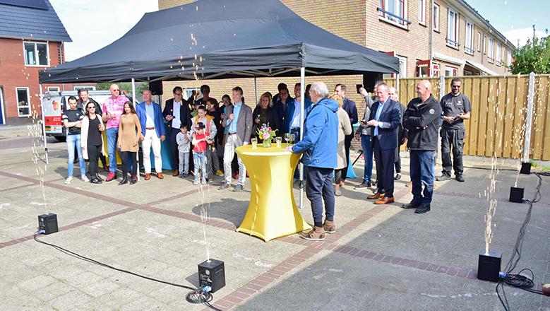 Feestelijke Oplevering 12 Woningen Beukenstraat Beverwijk