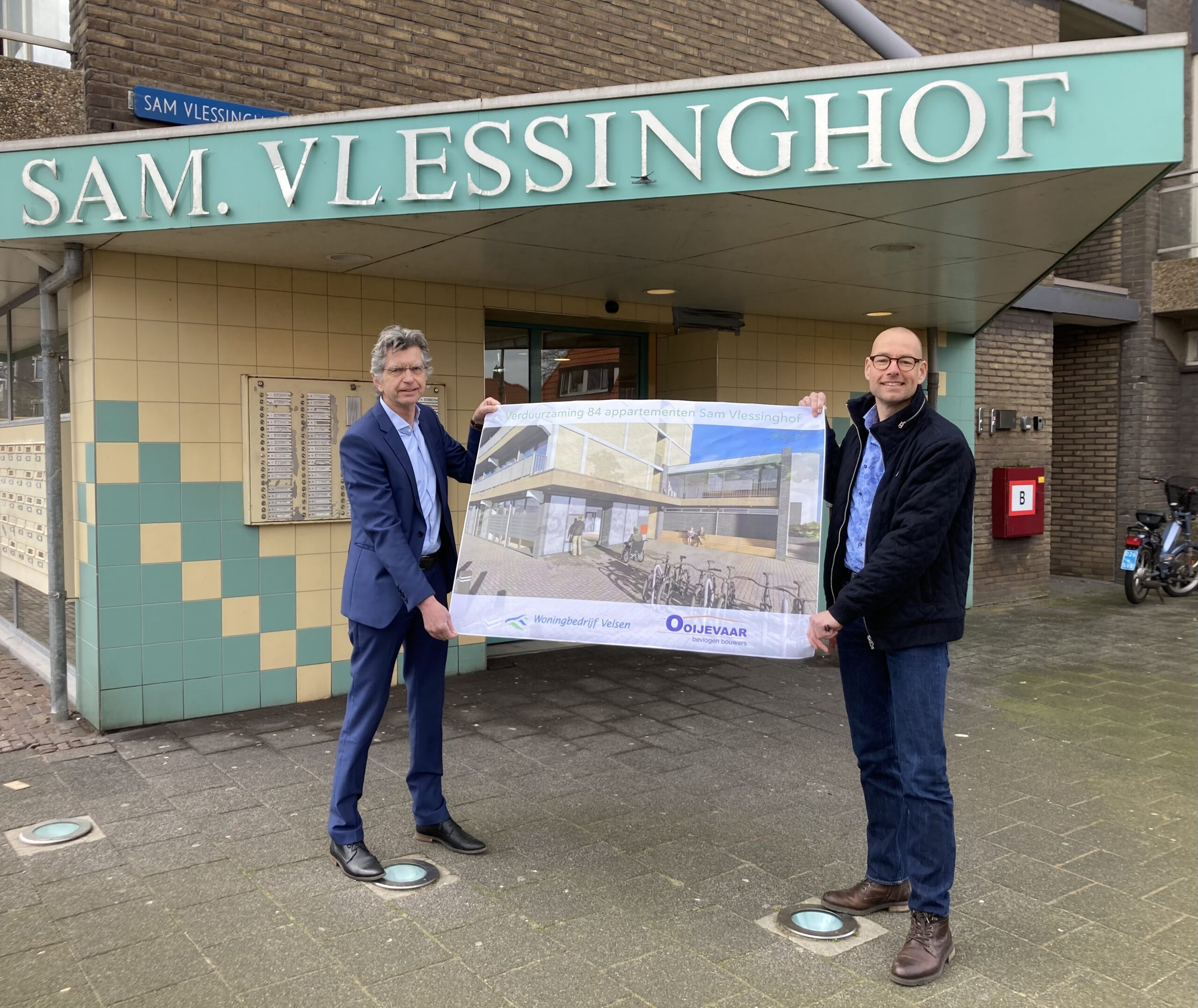 Ooijevaar Verduurzaamt 84 Woningen Sam Vlessinghof IJmuiden